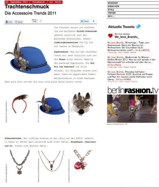 Charivari und Bambi-Armband / {Location}: Onlineblog We love Brands\\n\\n25.11.2011 18:02