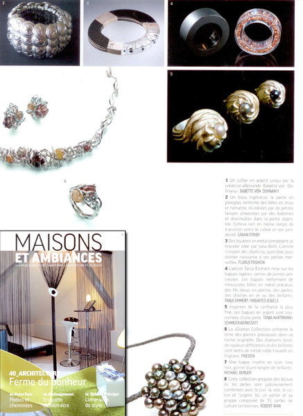 Armband Buttons / {Location}: Maisons et Ambiances\\n\\n09.02.2011 12:40